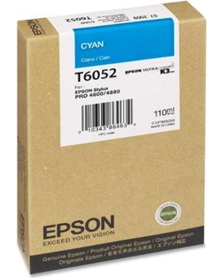 Epson Stylus Pro 4800 220ml Cyan ink cartridge C13T606200