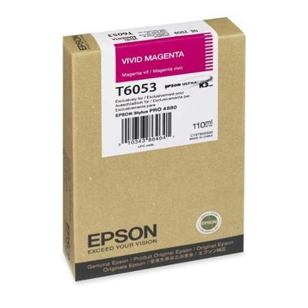 Epson Stylus Pro 4800 220ml Magenta ink cartridge C13T606B00