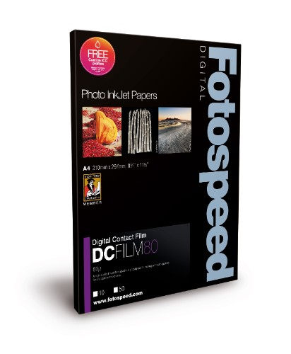 Fotospeed FS Digital Inkjet Photo Papers: Digital Contact Film - 80u
