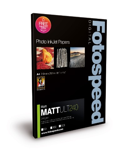 Fotospeed FS Inkjet Photo Papers: Matt Ultra - 240gsm