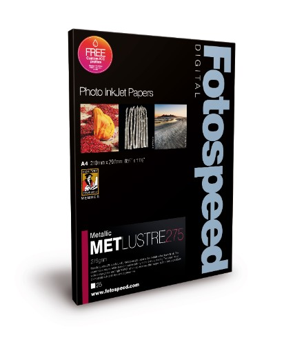 Fotospeed Metallic Lustre 275 A4 25 sheets