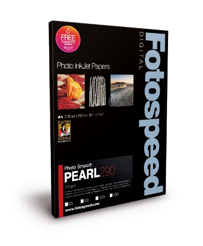 Fotospeed FS Inkjet Photo Papers SMOOTH PEARL 290