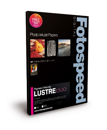 Fotospeed FS Digital Inkjet Photo Papers: PF Lustre DUO - 280gsm