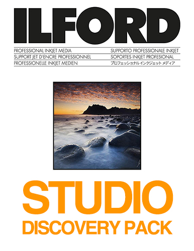 ILFORD STUDIO - Discovery Test Pack 12 sheets
