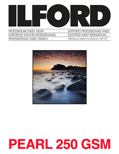 ILFORD STUDIO Pearl 250gsm/10Mil A4 - 210mm x 297mm 100 sheets