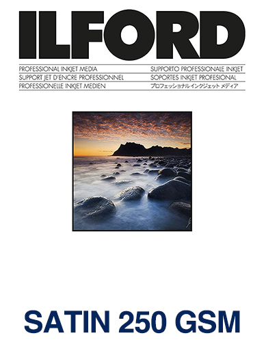 ILFORD STUDIO Satin 250gsm/10Mil A3 - 297mm x 420mm 50 sheets