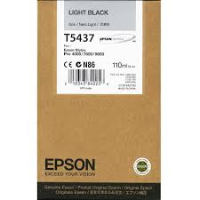 Epson Stylus Pro 4000/7600/9600 110ml Light Black ink cartridge C13T543700