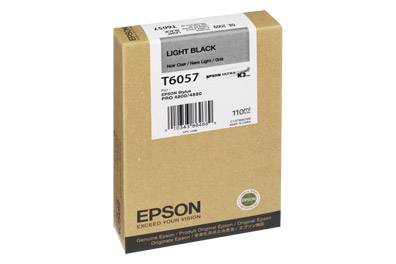 Epson Stylus Pro 4800 220ml Light Black ink cartridge C13T606700