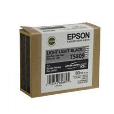Epson Stylus Pro 3880 / 3800 80ml Light Light Black ink cartridge C13T580900