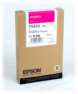 Epson Stylus Pro 4000/7600/9600 220ml Magenta ink cartridge C13T544300