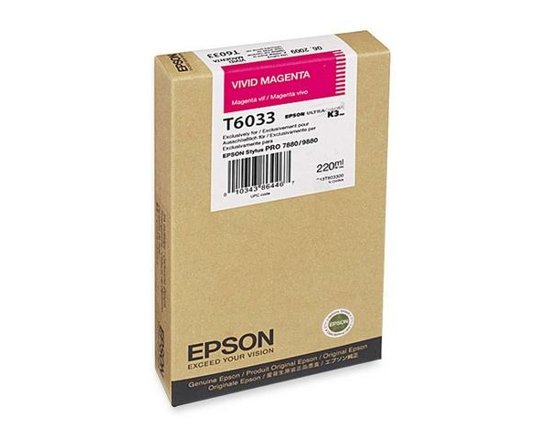 Epson Stylus Pro 7800/ 7880/ 9800/ 9880 110ml Vivid Magenta ink cartridge