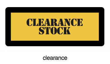 second 6 Clearance Stock