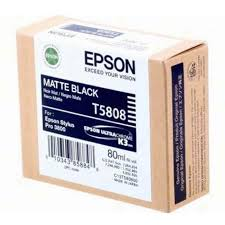 Epson Stylus Pro 3880 / 3800 80ml Matt Black ink cartridge C13T580800