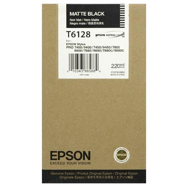 Epson Stylus Pro 7800/ 7880/ 9800/ 9880 110ml Matt Black ink cartridge