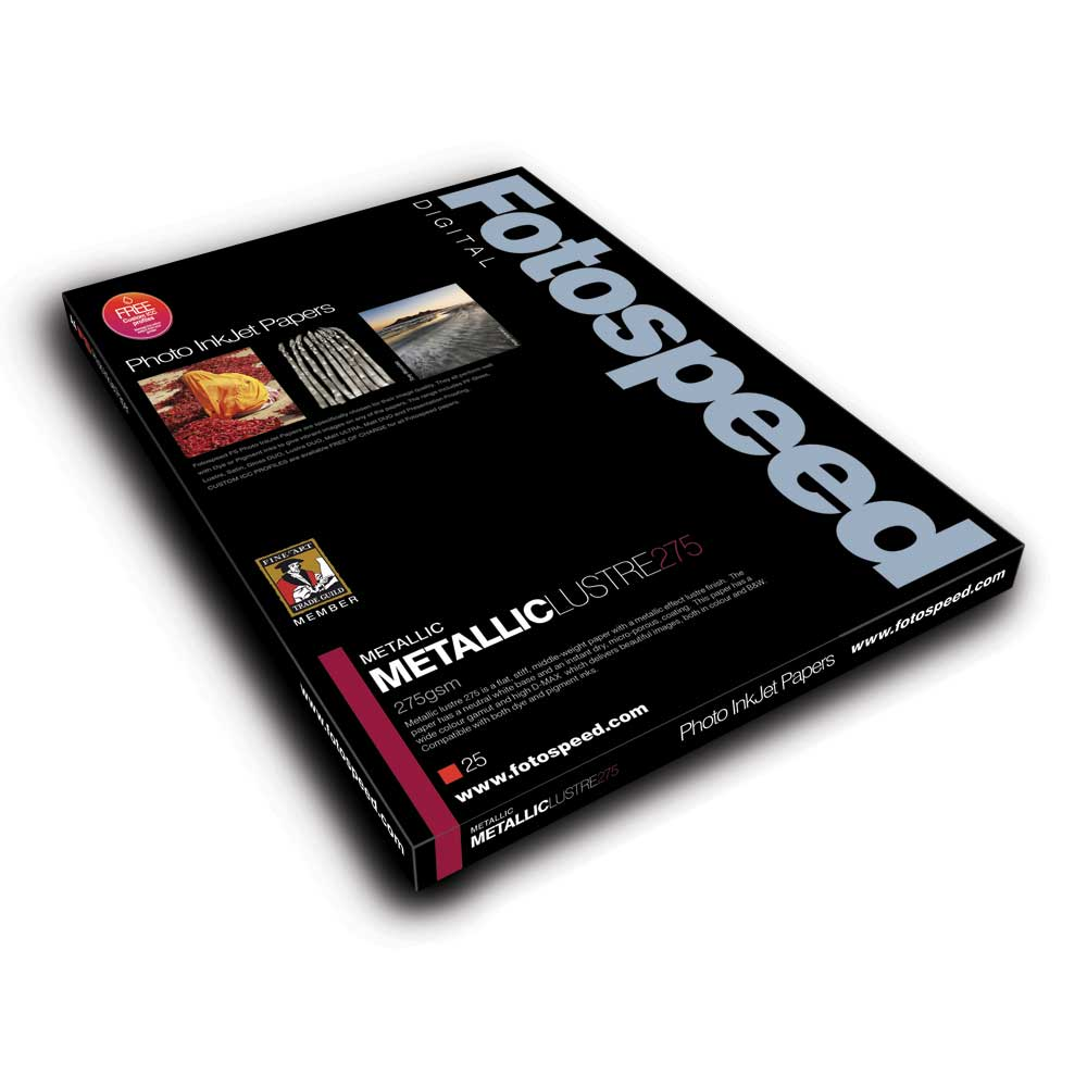 Fotospeed Metalic GLOSS 275gsm A4 25 sheets