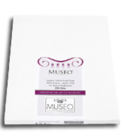 "Museo Archival Matt 250gsm 100% Cotton 11""x17"" 25 Sheets"