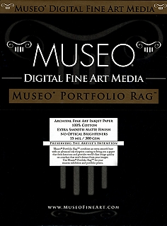 "Museo Digital FINE ART Inkjet paper PORTFOLIO RAG EXTRA SMOOTH 300 gsm 24"" x 36"" inch 609.6 x 914.4 mm 25 sheets"