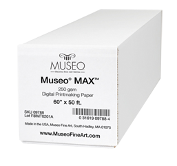 Museo Digital FINE ART Inkjet paper High Colour Gamut MUSEO MAX 100% Cotton 250 gsm 17 inch / 431 mm 15.85 m