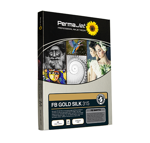 Permajet FB Gold Silk 315 A4 25 Sheets