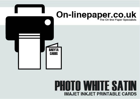 Imajet Photo White Satin