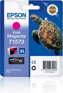 Epson Stylus Photo R3000 UltraChrome K3 VM Ink - 25.9ml - Vivid Magenta