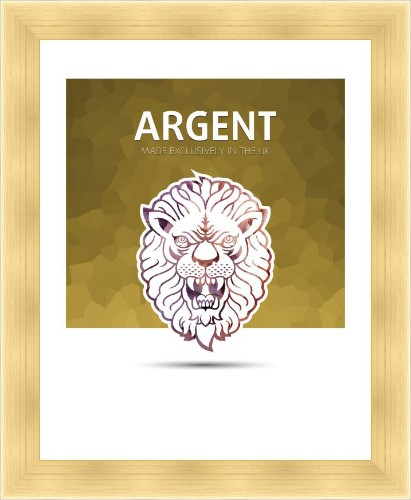 Argent - Gold A4 Readymade Frame