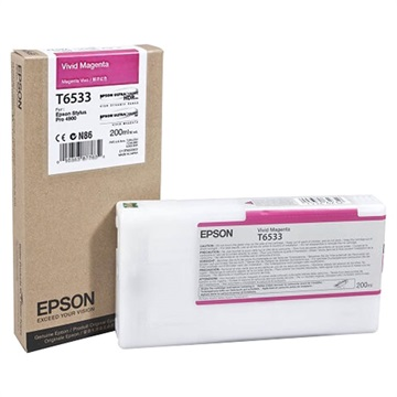 Epson 4900 Utrachrome HDR Vivid Magenta Ink Cartridge 200ml