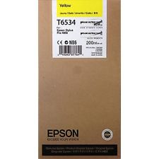 Epson 4900 Utrachrome HDR Yellow Ink Cartridge 200ml